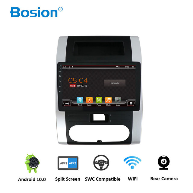 Bosion Car Radio Multimedia DVD Video Player Navigation GPS Android 10.0 2G 32G For Nissan X Trail XTrail X Trail T32 T31 camera