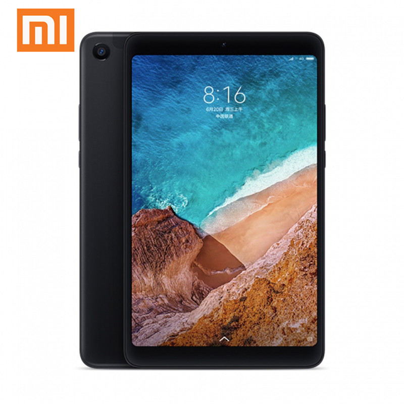 Original Box Xiaomi Mi Pad 4 Plus Balck 10.1 Inch Snapdragon 660 4GB RAM 64GB ROM LTE Global ROM 1920*1080 MIUI 9.0 Tablet PC