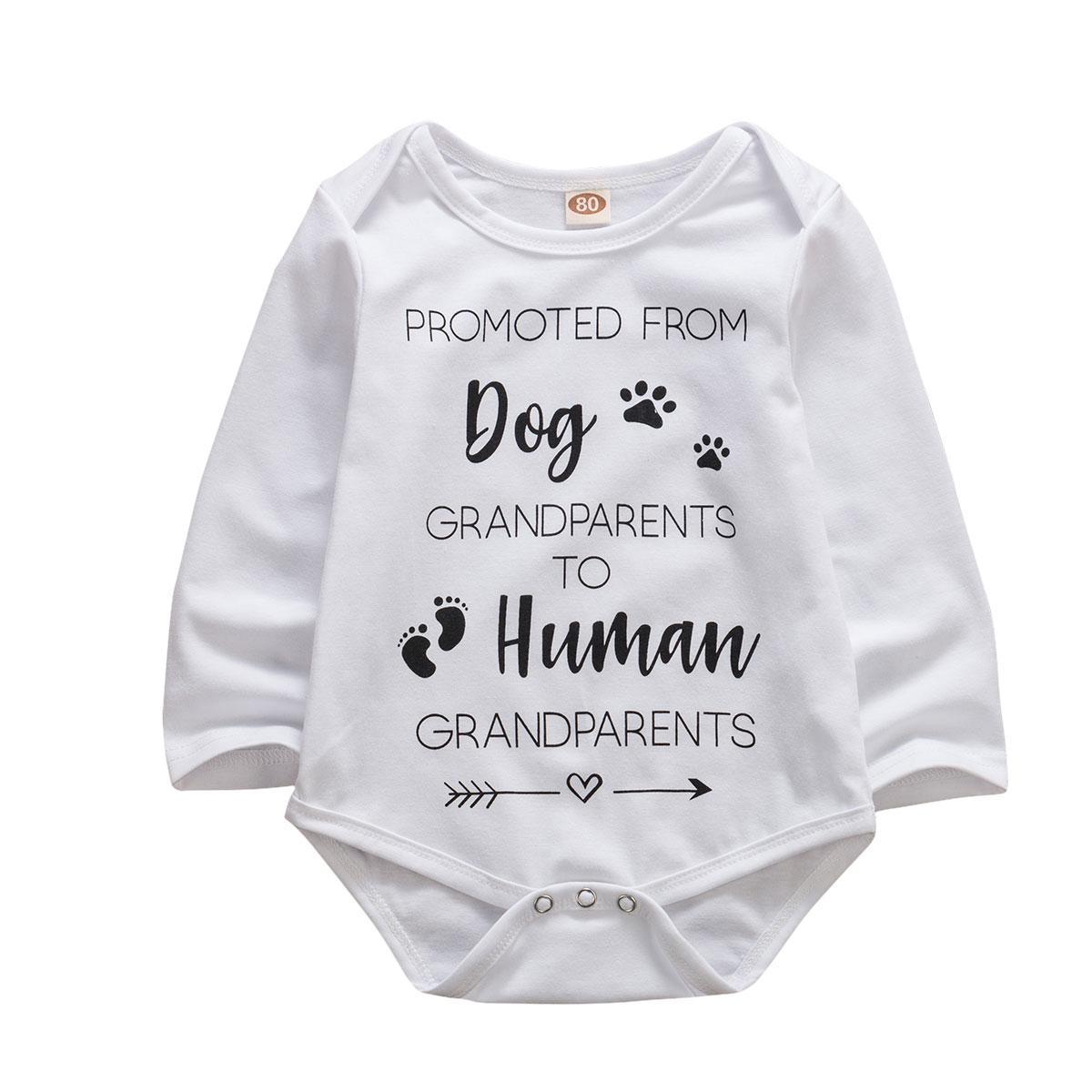 0-18M Kids Girls Crawl Suit Baby Romper Long Sleeve Jumpsuit Outfit Clothes Set