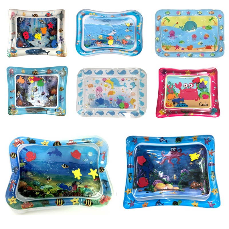 Hot Toys Baby Inflatable Water Cushion Sea Animals Play Mat Children Education Toy Patted Pad