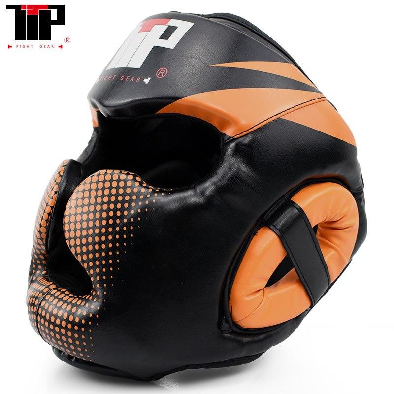 Breathable Boxing Helmet Protector Head Guard Adult Taekwondo Children Sanda Muay Thai Training Helmet