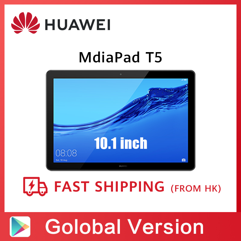 Global Version HUAWEI MediaPad T5 3GB 32GB Tablet PC 10.1 inch Octa Core Dual Speaker 5100 mAh Support microSD Card Android 8.0