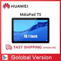 Globale Version HUAWEI MediaPad T5 3GB 32GB Tablet PC 10,1 zoll Octa Core Dual Lautsprecher 5100 mAh Unterstützung microSD Karte Android 8,0