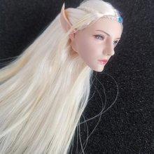 Женская фигурка в наличии 1/6 elf queen emma длинная резьба