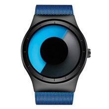 Top Creative Man Sport Casual Watches Men's Unisex Quartz Waterproof Clock Male Female Wrist Luxury Stainless Steel Band Watch