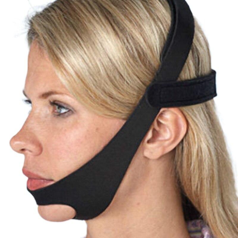 Анти храп пояс для подбородка защита от апноэ челюсть решение для сна поддержка апноэ пояс для сна инструменты для ухода за сном