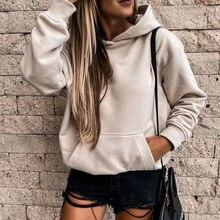 Sweat à capuche pour femmes, long, mode, violet, grandes poches, hauts amples, Streetwear décontracté dames, #269