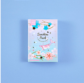 Star Garden Paper Greeting Card Lomo Card(1pack=28pieces)