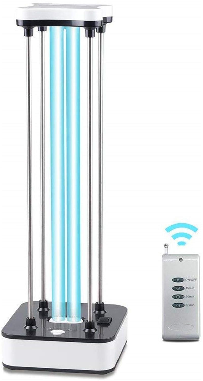 36W 110V Ultraviolet Disinfection Lamp UV-C Mobile Room Steriliser UV Cleaning Lamp Light Home Travel Hotel Household Air Cleane
