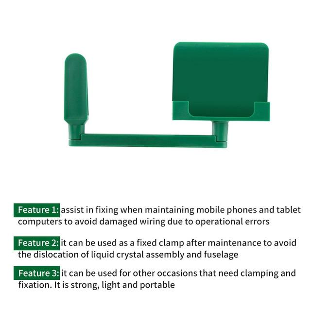 1 Pcs Phone Plastic Adjustable Fixture Holder For IPhone For Samsung S7 LCD Screen Repair Mobile Phone Disassemble Repair Tool 5