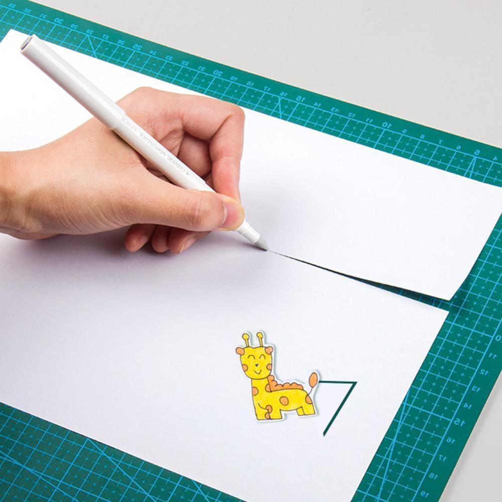 1pcs Japan Creative Paper Pen Knife Wear-Resisting Newspaper Hand Book Tape Ceramic Blade Utility Knife Cutting Knives