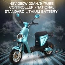 GTR6 skuter elektryczny dwa koła 350W 48V Removbale bateria litowa rowery elektryczne rower dla dorosłych kobiet mężczyzn