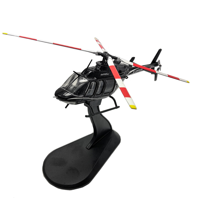 1/72 Bell 407GX Helicopter High Simulation Air Force Model Classic Die Casting Alloy Fighter Funs Collection Or Decoration Kids