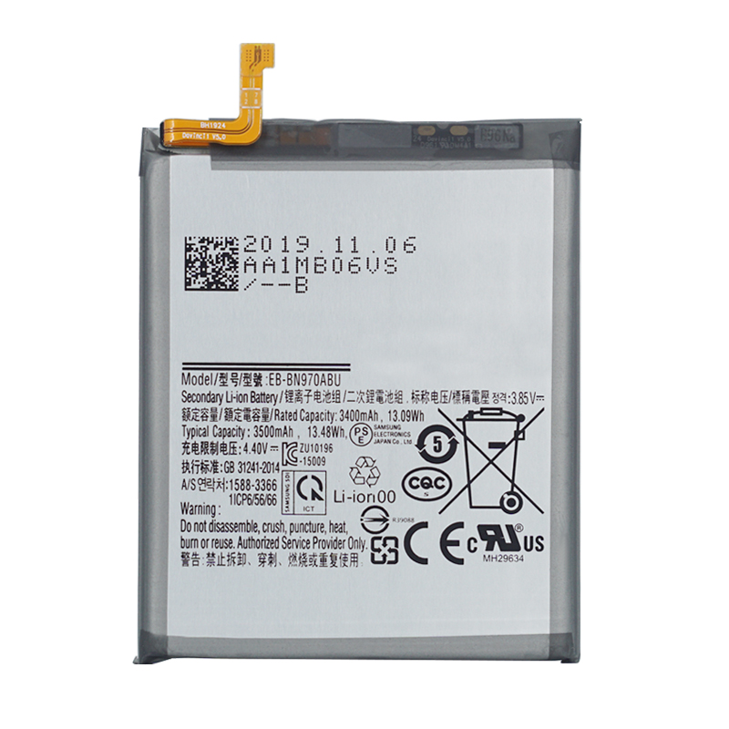 Original Replacement Battery EB-BN970ABU For Galaxy Note 10 Note X Note10 Authentic Phone Battery 3500mAh