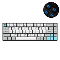 68 Keys Office Mechanical Keyboard Gaming Sensitive Dual Mode Bluetooth Accessories Wireless Noise Reduction Anti Fade Portable