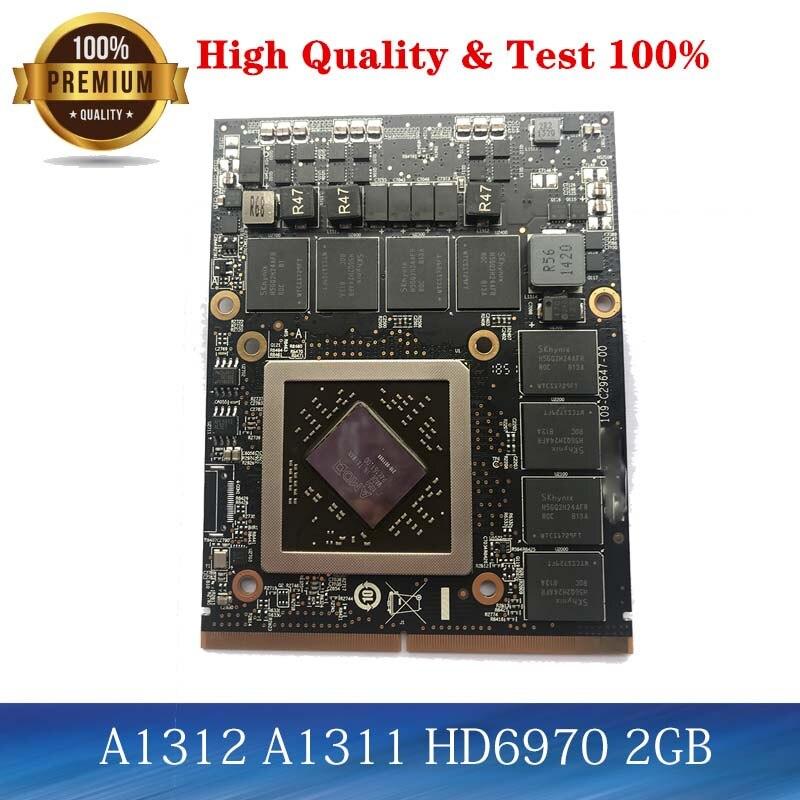 """hd6970 hd6970m 2gb חדש HD 6970M HD6970 hd6970m 2GB 2G VGA כרטיס מסך עבור Apple iMac 27"""" אמצע 2011 Radeon A1312 A1311 661-5969 109-C29657-10 (1)"""