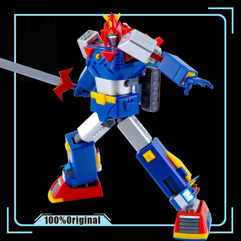 Super Elektromagnetische Machine Voltes V Daimos Speelgoed Mini Action Serie VOLTES-V Action Figure Model Modificatie Vervormbare