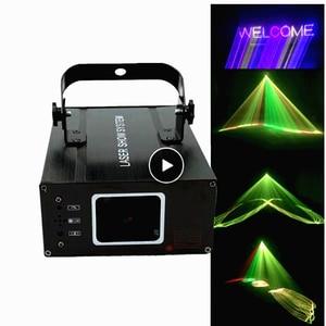 3D лазерный светильник, RGB цветные DMX 512 сканер, вечерние проектор, Рождество, DJ, дискотека, шоу, светильник, Клубное музыкальное оборудование, ...