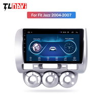9 2.5D IPS Android 8.1 Car DVD Multimedia Player GPS For honda Fit jazz 2004 2005 2006 2007 audio car radio stereo navigation