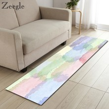 Zeegle Rugs and Carpets for Living Room Anti Slip Kitchen Floor Mat Absorbent Sofa Yoga Carpet Foot Mat Luxury Home Decor Rug(China)