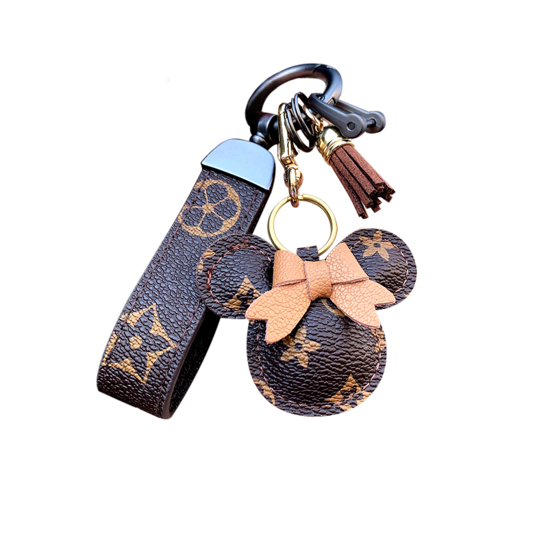 High-end car keychain pendant female cute keychain girlfriend Valentine's Day birthday gift men's diy keychain accessories