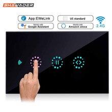 Interrupteur intelligent pour rideaux, wi-fi, adapté aux portes de Garage, volets roulants électriques, télécommande par Ewelink Amazon Alexa Google Home