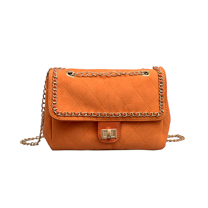 Spring and summer large-capacity bags women 2020 new wild one-shoulder slung fashion matte chain ladies square bag