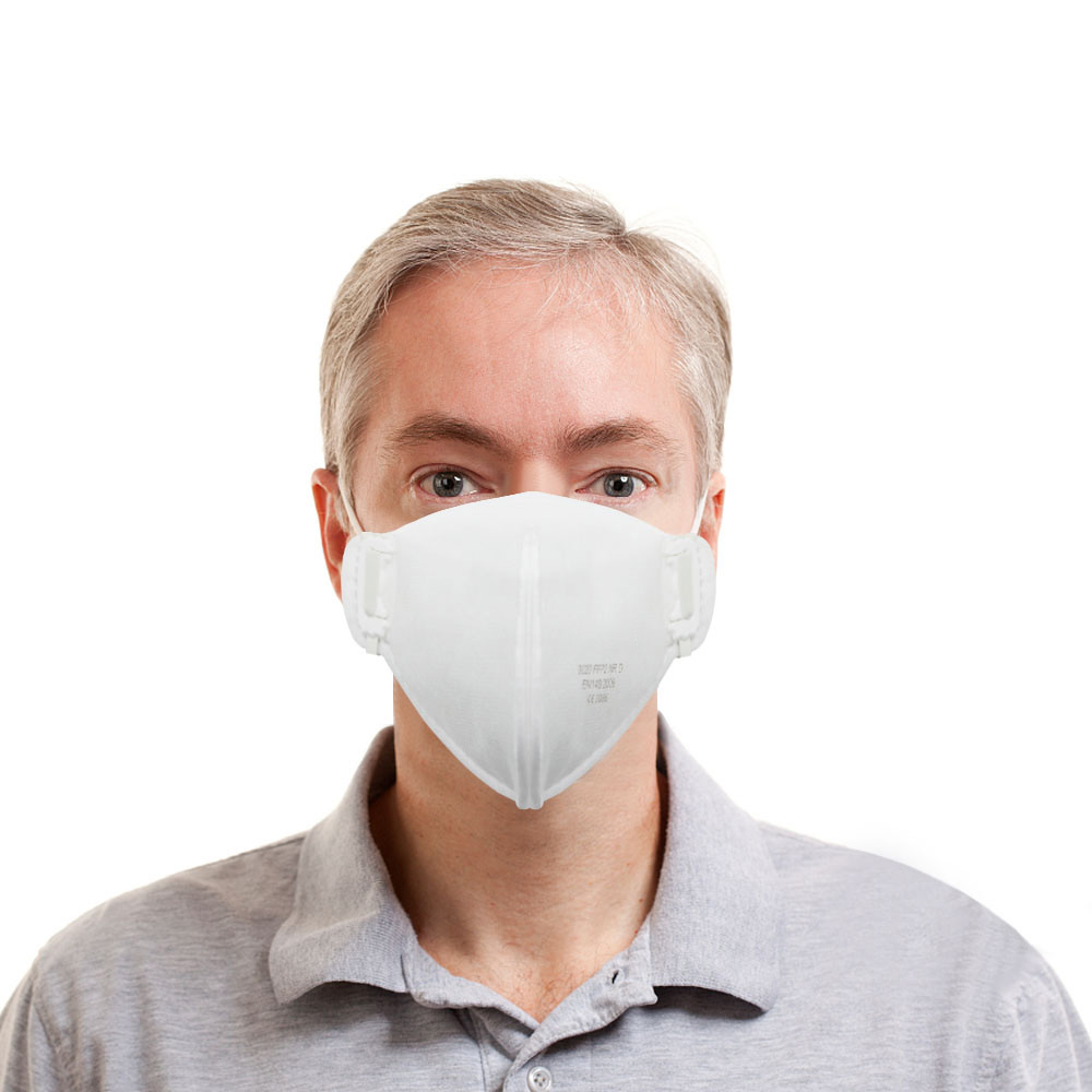 20PCS European Standard Anti-bacterial Anti Pollution Face Mouth Mask Sanitary Non Woven Disposable Mask