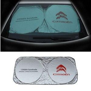 Солнцезащитный козырек для лобового стекла автомобиля, солнцезащитный козырек для Citroen C3 C4 C5 Picasso Berlingo C2 DS3 DS5