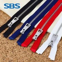 Sbs Authentieke Rits #5 Vierkante Tand Open Metalen Rits Accessoires Case Tas Naaien Accessoires Top Grade Windjack Rits