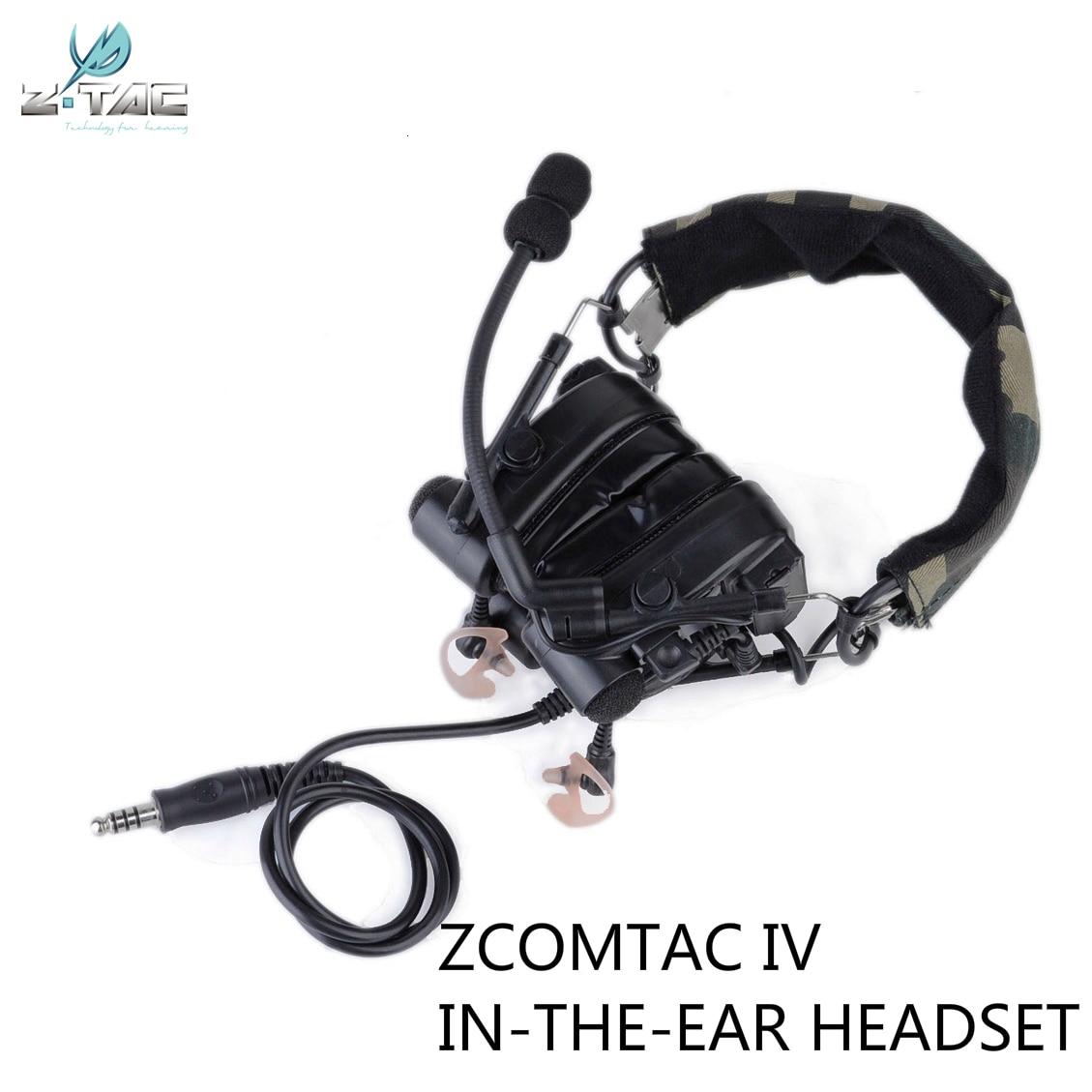 z tac combate tatico tactical zcomtac iv headset z038 cancelar o ruido fones de ouvido fone