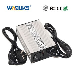 36.5V 3A LiFePO4 Battery Charger For 10S 32V LiFePO4 Battery CE,ROHS,FCC With fan Aluminum case Charger(China)