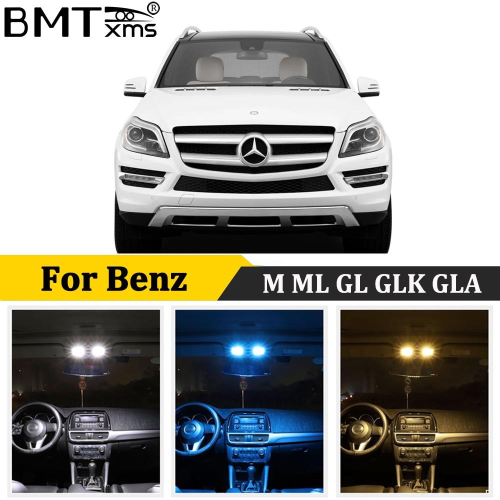 BMTxms Canbus Mercedes Benz M ML GL GLK GLA W163 W164 W166 X164 X166 X156 X204 araba LED iç dome harita işık