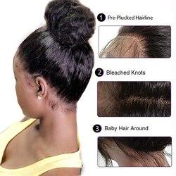 360 spitze Frontal Perücke Brasilianische Gerade Spitze Perücken 360 lange Spitze Menschliches Haar Perücken Für Schwarze Frauen Mit Baby Haar remy Haar