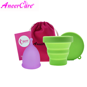 Image 5 - 1pcs Feminine Hygiene Menstrual Cup Medical Grade Silicone Copo Menstrual de Silicone Medica Reusable Menstrual Cup