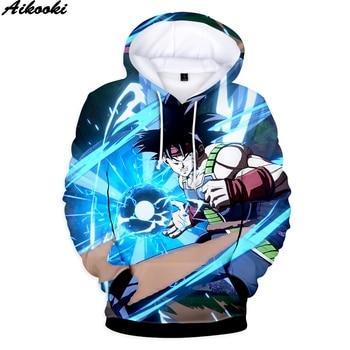 Hot Sale Sweatshirt Print Anime Dragon Ball 3D Hoodies Men Women Sweatshirt 3D Dragon Ball Hoodies pullovers Oversized Hooded