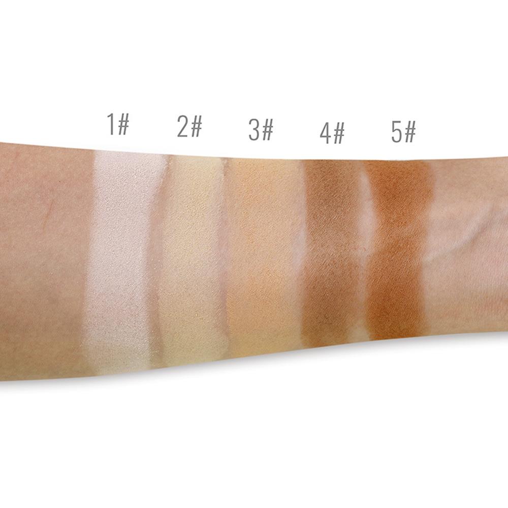 vegan contour makeup concealer professional pressed powder natural face cosmetic private label custom logo