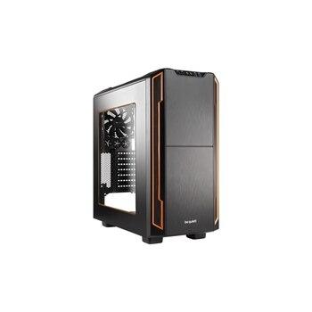PC- Case BeQuiet Silent Base 600 mit Fenster - orange