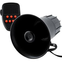 New 12V Loud Horn 7 Sounds Car Vehicle PA Speaker System Cop Constable