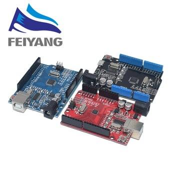 UNO R3 rozwój pokładzie ATmega328P CH340 CH340G dla Arduino UNO R3 z prosty Pin nagłówek z kabel