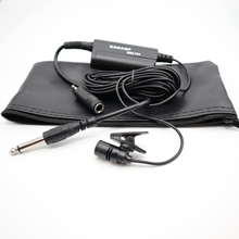 Instruments de musique condensateur Lavalier micro cravate pince micro pour guitare amplificateur vocal haut parleur mélangeur Audio