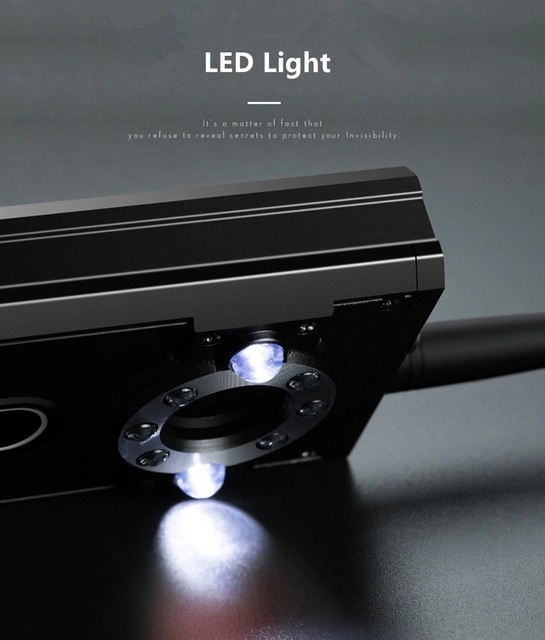 IR Laser RF Detector T9000 Anti Spy Cam Hidden Camera Scanner WiFi Signal GPS GSM Radio Phone Tracker Finder Private Security 6