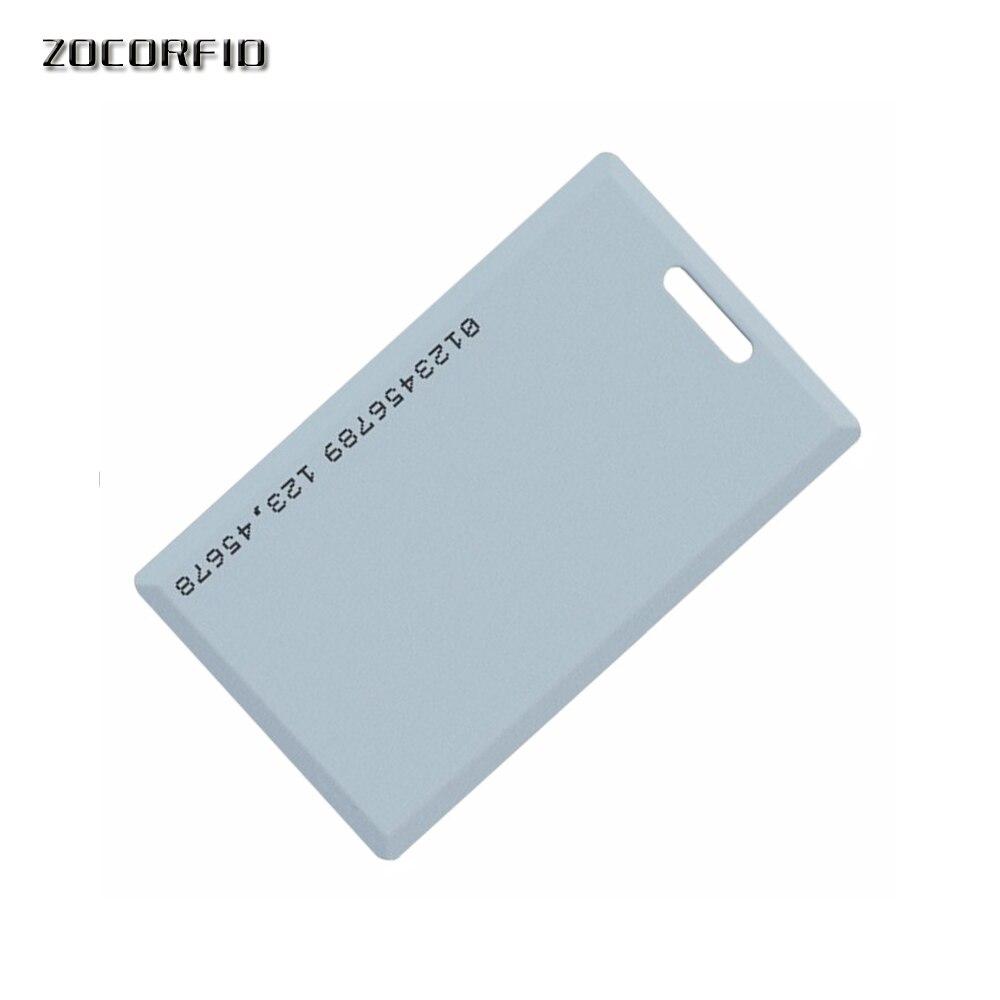 1.8mm EM4100 Tk4100 125khz Access Control Card Keyfob RFID Tag Tags Sticker Key Fob Token Ring Proximity Chip