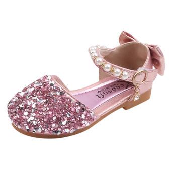 Maluch dziecko buty dla małego dziecka księżniczka pierwsze Walker miękkie podeszwy pierwsze buty spacerowe dziewczyna kwiat Prewalkers tkanina bawełniana antypoślizgowe buty tanie i dobre opinie NoEnName_Null RUBBER 13-24m 25-36m 3-6y 7-12y CN (pochodzenie) Cztery pory roku Kobiet Płaskie Obcasy Sandały Hook loop