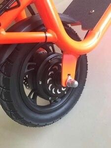 Image 5 - דואר קטנוע 36V350W אחורי מנוע גלגל Brushless רכזת מנוע אופניים אופניים חשמלי אופני ערכת 500W 12 גלגל קדמי מנוע Citycoco