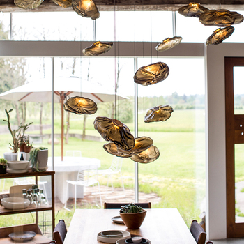 Cloud dining room bar chandelier design creative personality villa home stay hall hall chandelier