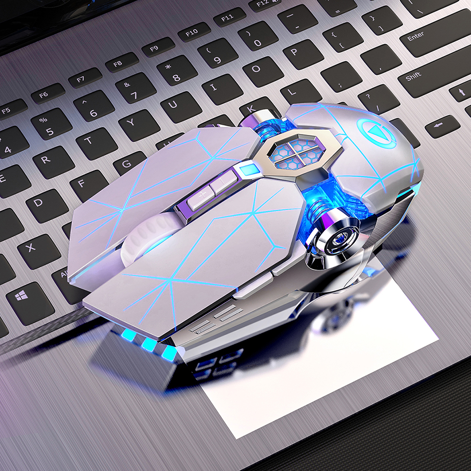 Silent Gaming Mouse Wired 3200DPI LED Backlit USB Optical Ergonomic Wired Mouse PC Gamer Computer Mouse For Laptop Games Mice