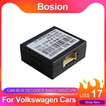 Bosion Car Radio Stereo For Volkswagen Cars Canbus Box Android 2 din /1 din image