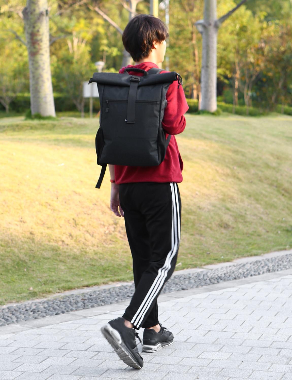 cute cheap best value really cheap Lixada Roll Top Laptop Backpack Lightweight RollTop Daypack ...