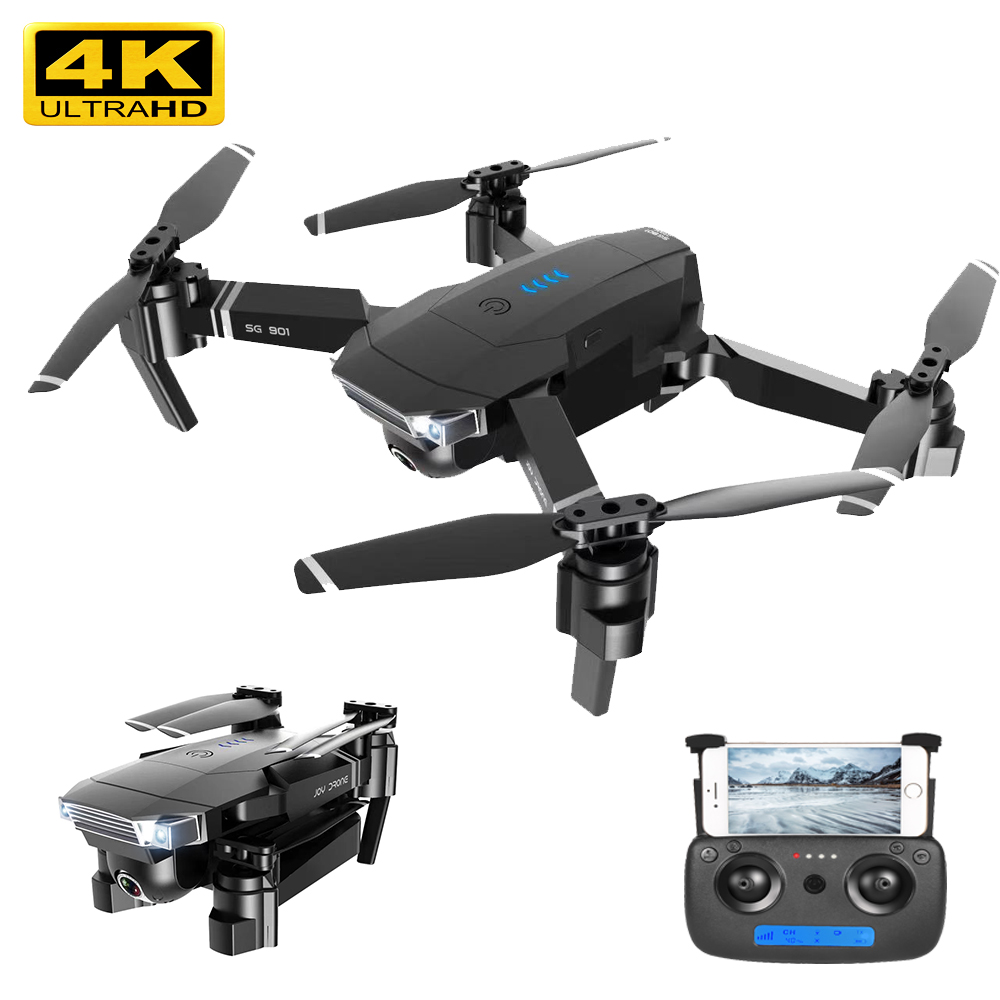 Drone 4K SG901 Rc Camera HD 1080P WiFi  Fpv Drone With Camera Quadcopter Flight 20 Minutes Follow Me Drone Camera Dron